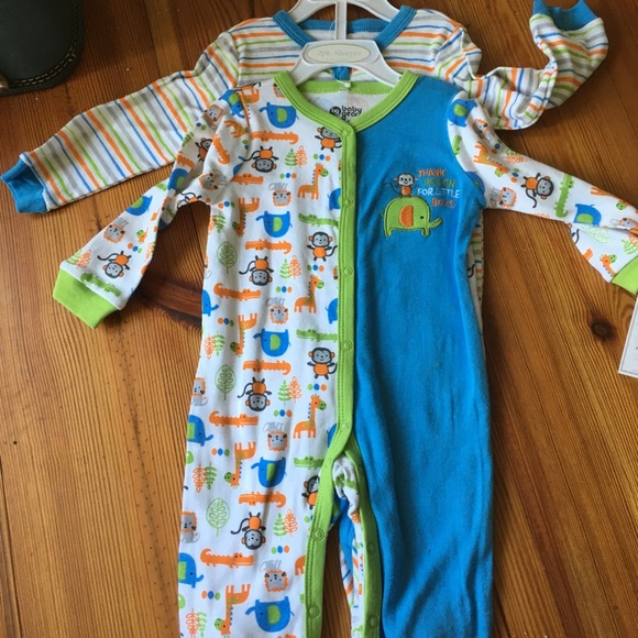bdd57b1dc3 NWT Two One Piece Lightweight Sleepers with snaps. NWT. Baby Gear